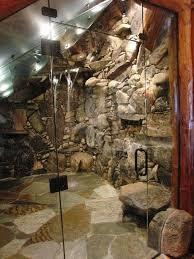 Log Cabin Shower