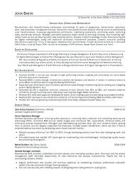 Project Management Buzzwords Resume Project Management Resume