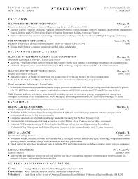 Investment Analyst Cover Letter Resume Template Directory