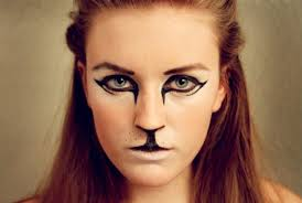 face paint cat pretty kitty gloriousmasks on makeup wolf makeup and special effects