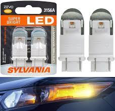 Sylvania Reverse Lights Sylvania Zevo Led Light 3156 Amber Orange Two Bulbs Back Up Reverse Replace Jdm
