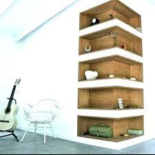 wall mounted corner shelves shelves sensational wall mounted corner shelving unit