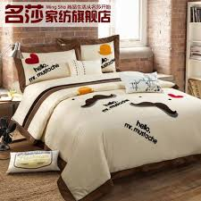 modern bed sheets. Modren Bed 7 Styles Modern Bed Sheet Set Simple Design Bedding Set100 Cotton  Setking Size Setin Bedding Sets From Home U0026 Garden On Aliexpresscom  Intended Modern Bed Sheets S