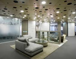 funky office decor. Office : Decor Cool Modern Design Ideas With Recessed Lighting And Gray Sofa Plus Area Rug Elegant Concepts For Your Inspiration Funky