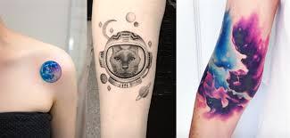 Galerie Fascinuje Tě Vesmír Koukni Na Těchto 20 Tetování Jak Z