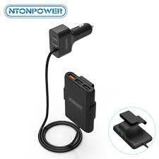<b>NTONPOWER</b> Surge Protector 1850W Smart Power Strip with 6 ...