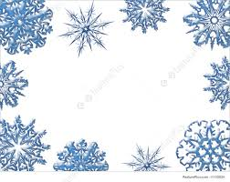 blue and white christmas background. Fine Blue Snowflakes Of Blue And White Blue White Christmas Ornaments Winter  Frame On And White Background E