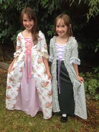 Colonial Dress Pattern