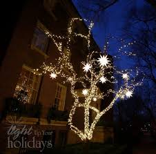 outdoor tree lighting ideas. The Best 40 Outdoor Christmas Lighting Ideas That Will Leave You Breathless Tree E