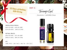 day 5 age xmas gift ora leaders doterra oils