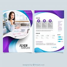 Business Flyer Design Templates Modern Business Flyer Template Vector Free Download