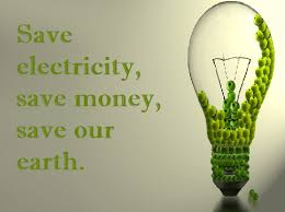 about saving electricity
