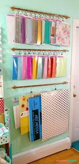 diy craft room shelving hanging storage in my craft room home improvements catalog furniture home improvement