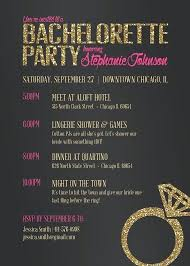 Bachelorette Party Invites Free Printable Invitations Templates As