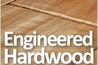 The best way to describe engineered hardwood flooring is to think of it  like a hybrid car; it's a little bit of laminate and a little bit of  hardwood.