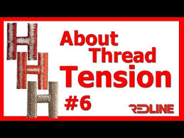 About Tension Redline Embroidery Machine Youtube