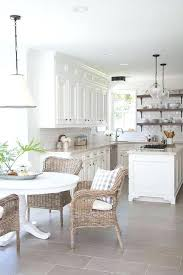 eat in kitchen furniture. Round White Dining Table Fabulous Eat In Kitchen Boasts A Black And Pendant Hanging Lamp Furniture