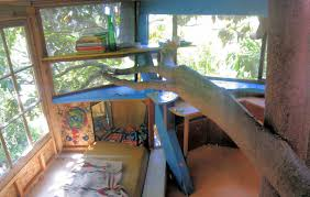 cool kid tree houses. Delighful Tree Original Tree House Interior  View From Sitting Area To Northeast Corner  Study In Cool Kid Tree Houses