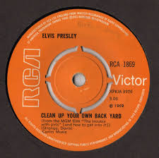 Lirik Lagu Clean Up Your Own Backyard  Elvis Presley  ZonaKamuElvis Clean Up Your Own Backyard