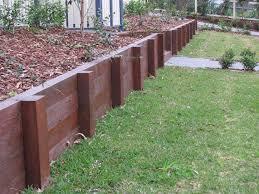 small wood retaining walls ltd