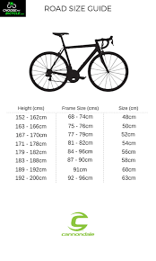 Cannondale Road Bike Size Chart Buy Cannondale Synapse Carbon 105 2018 Cycle Online Best