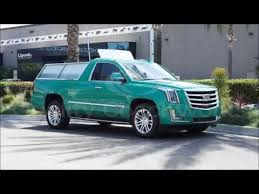 2016 Escalade ESV Pickup Truck Limousine Limo - YouTube