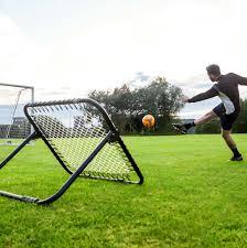 single sided football rebounder net football training equipment for solo practice
