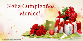 Resultado de imagen para Feliz cumpleaños Moni
