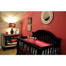 Addyson's Modern Pink and Black Nursery