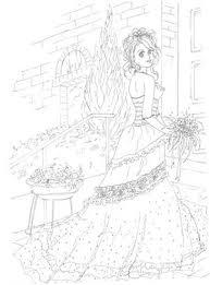 かわいい女の子のぬりえ塗り絵 テンプレート画像集 Naver まとめ