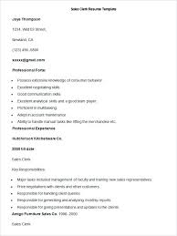 Clerical Resume Template Best Sales Resume Template Free Samples Examples Format Download Sample