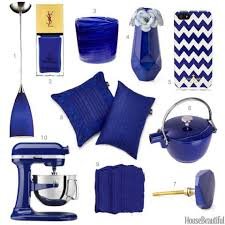 cobalt blue home accessories