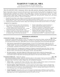 How To Start A Resume Awesome Martin Vargas Healthcare Innovation Resume