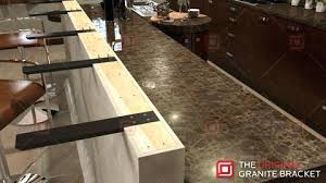 corbels for granite knee wall support bracket the original countertops wood home depot ori