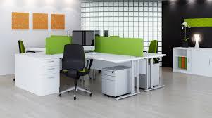 office desking. Elite-flexi-crescent-green Office Desking