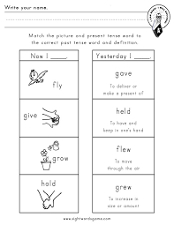 First Grade Verb Worksheets Worksheets for all | Download and ...