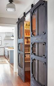 antique door hardware. Pantry Doors. Antique Door Hung With Barn Hardware. Doors\u2026 Hardware