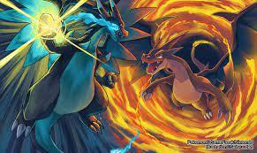 50+] Pokemon Mega Charizard X Wallpaper on WallpaperSafari