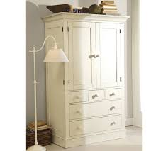 Charlotte Armoire White Armoire With Drawers L60