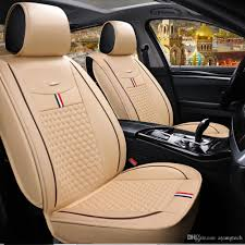 quality leather classic auto seat cover suv sedan truck van racing car seat cover protector four color auto seat cushion foam auto seat cushion wedge from