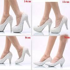Plus Size Phoenix Rhinestone Wedding Shoes Handmade Nightclub Crystal High Heel Dancing Shoes Bridal Prom Shoes Cinderella Pumps Burgundy Bridal Shoes