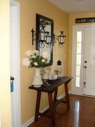 Image of: Small Foyer Decorating Ideas Image