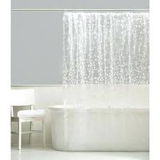 vinyl shower curtains ice circles curtain in on non toxic vinyl shower curtains