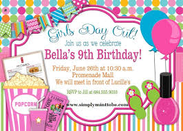 Diy Girls Day Out Party Invitation Movies Spa Party Makeup Party 4x6 Digital Order Only Birthday Party Digital Order Invite 2