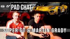 Gran Turismo Pad Chat: Super GT and Martin Grady get on the pads ...