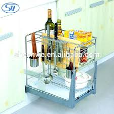 pull out baskets kitchen cabinet a wall mounted steel shelf kitchen cabinet pull out basket adjule elevator pull out baskets for kitchen cabinets
