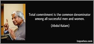 Total Commitment Is The Common Denominator Among All Successful Men Delectable Success Quotes For Men