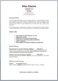 Best Resume Format Uk Writing CV Template  We offer a personalized service  tailored to