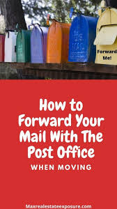 usps address change how to forward