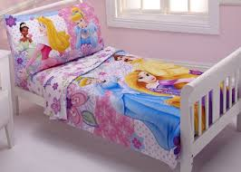 bedding sets by disney disney 4 piece toddler set princesses wishes and dreams